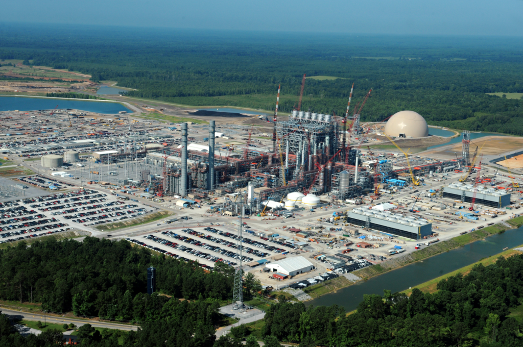 582 MW IGCC power plant under construction. Kemper, Mississippi. Owner: Mississippi Power, subsidiary of Southern Company.