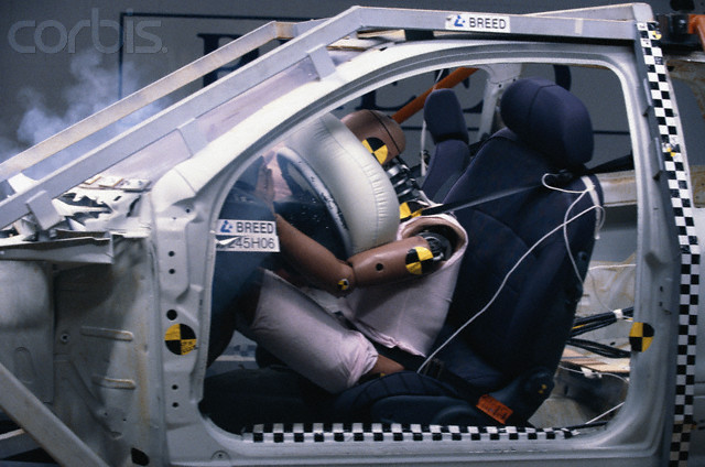 Airbag systems have to be designed to specifics of each car. Advanced mathematical modeling and extensive crash tests are integral parts of the engineering.