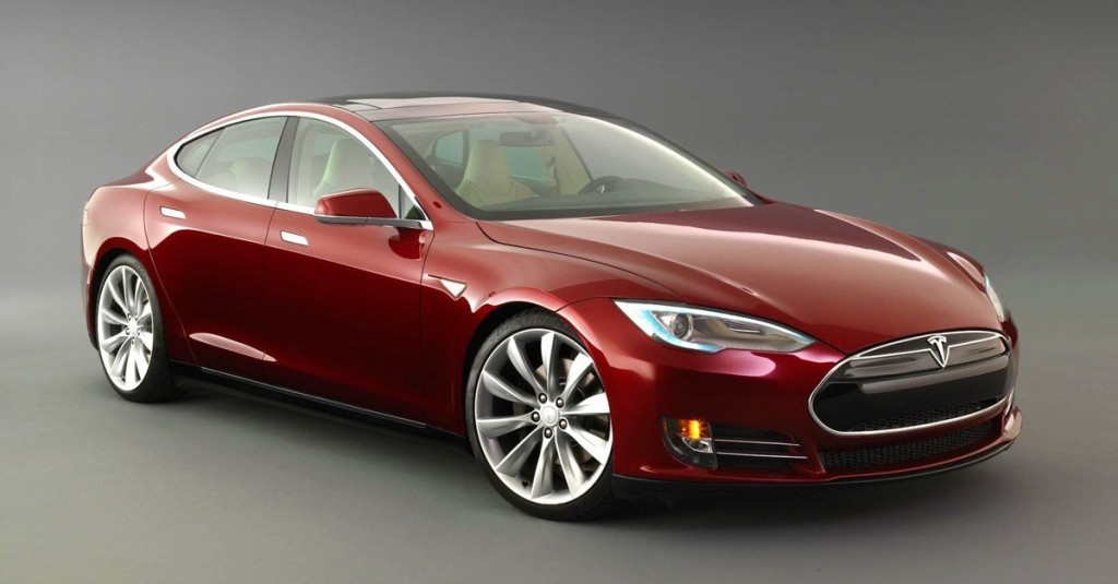 Tesla Model S. Launched 2012. All-electric. Battery options: 70, 85 and 90 kWh. Electric range 265 miles (85 kWh).